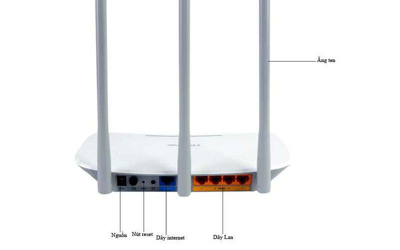 bộ phát sóng wifi tp-link tl-wr845n tốc độ cao 300mpbs - hình 03