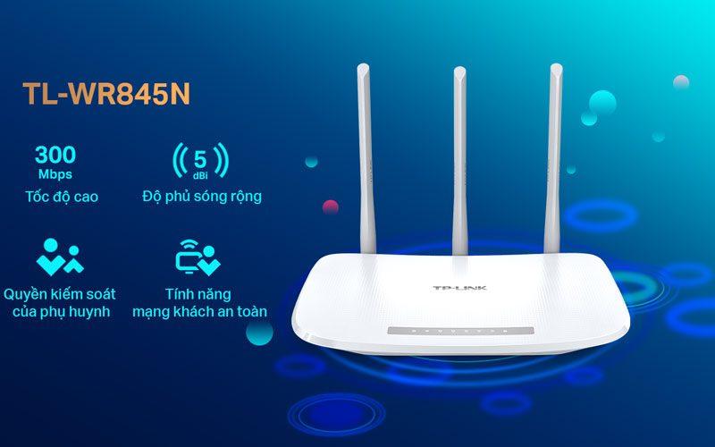 bộ phát sóng wifi tp-link tl-wr845n tốc độ cao 300mpbs - hình 07