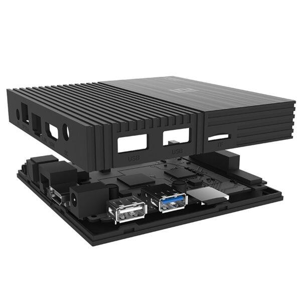 enybox a95x f2 4gb/64gb amlogic s905x2 android 9.0 2.4g/5.8g wifi kodi 17.6 4k tv box - hình 06