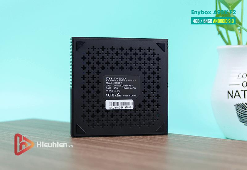 android tv box enybox a95x f2 cấu hình ram 4gb rom 64gb, android 9.0, chip xử lý s905x2 - hình 08