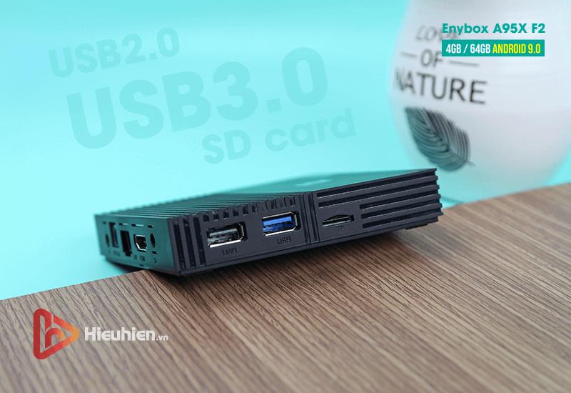 android tv box enybox a95x f2 cấu hình ram 4gb rom 64gb, android 9.0, chip xử lý s905x2 - hình 09