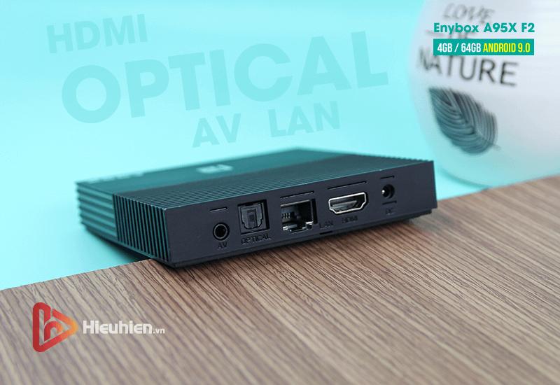 android tv box enybox a95x f2 cấu hình ram 4gb rom 64gb, android 9.0, chip xử lý s905x2 - hình 10