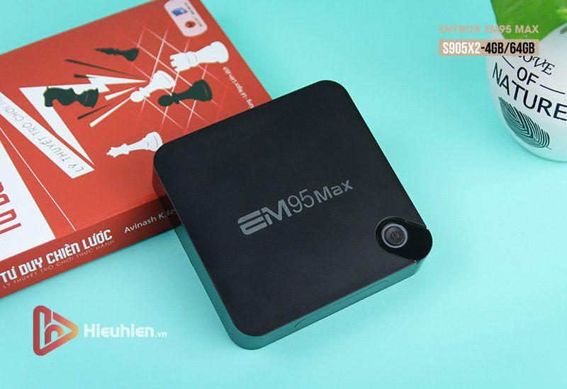 enybox em95 max ram 4gb rom 64gb, chip xử lý amlogic s905x2, hệ điều hành android 9.0 - hình 06
