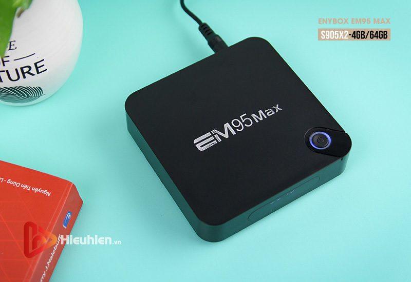 enybox em95 max ram 4gb rom 64gb, chip xử lý amlogic s905x2, hệ điều hành android 9.0 - hình 08