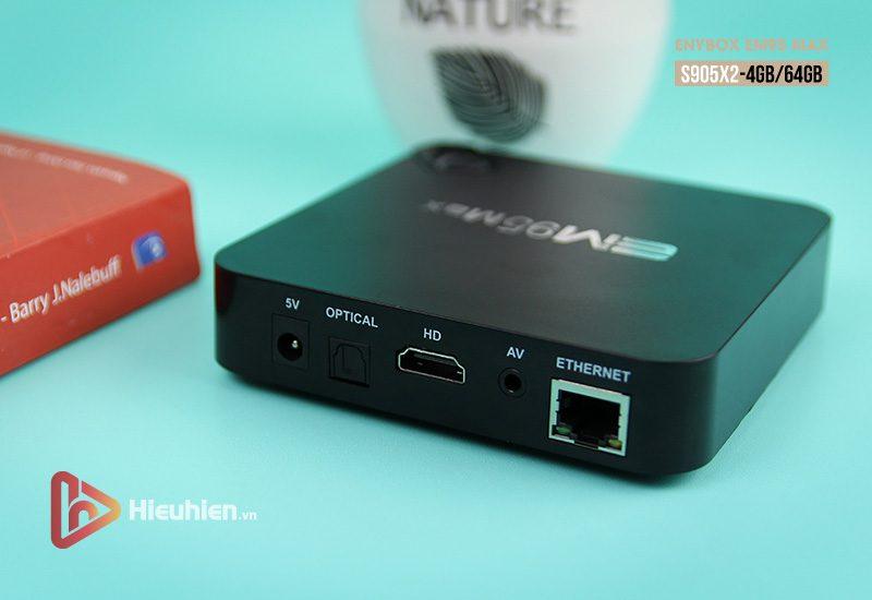 enybox em95 max ram 4gb rom 64gb, chip xử lý amlogic s905x2, hệ điều hành android 9.0 - hình 10