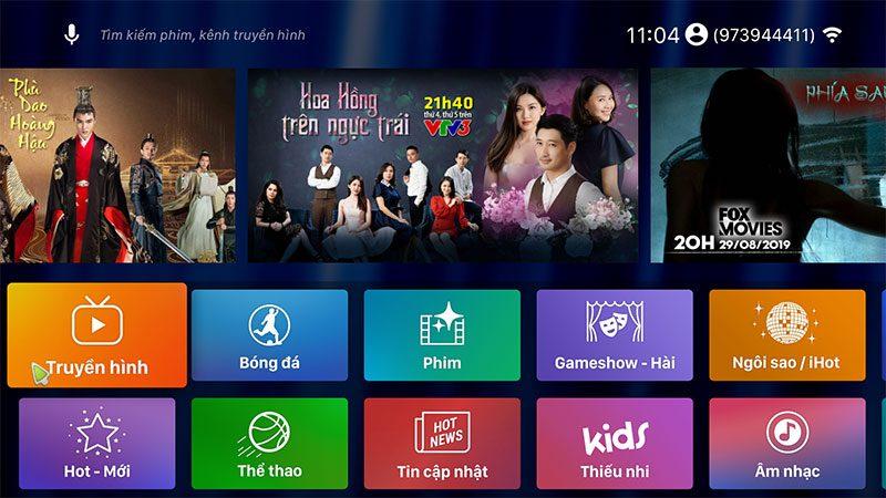 enybox em95 max ram 4gb rom 64gb, chip xử lý amlogic s905x2, hệ điều hành android 9.0 - hình 16