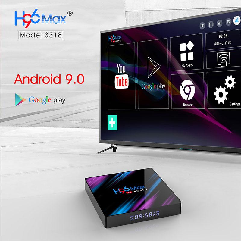 enybox h96 max rk3318 4gb/32gb android 9.0 tv box 4k - hình 15