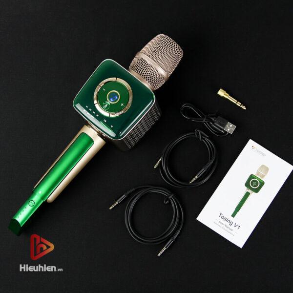 micro karaoke bluetooth tosing v1 tích hợp nhiều tính năng đặc biệt - hình 08