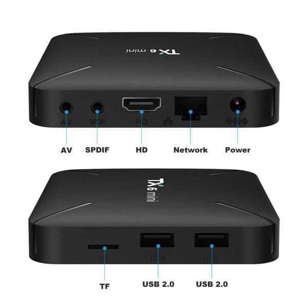 tanix tx6 mini 2gb/16gb android 9.0 tv box allwinner h6, hỗ trợ 6k h.265 - hình 09