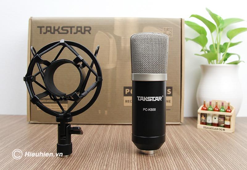 top 6 micro thu âm livestream, hát karaoke tốt nhất, nên mua 2019 - takstar pc-k500