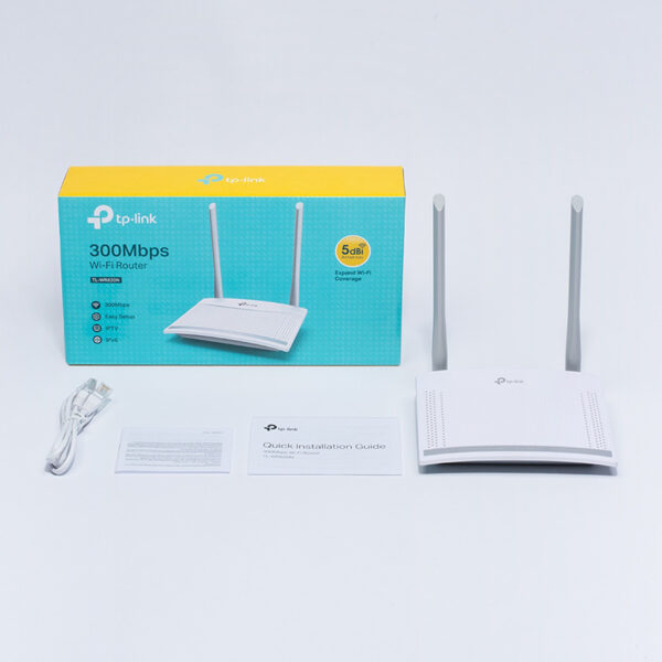 tp-link tl-wr820n - bộ phát wifi chuẩn n tốc độ 300mbps, 2 ăng ten 5dbi với công nghệ 2x2 mimo - hình 04