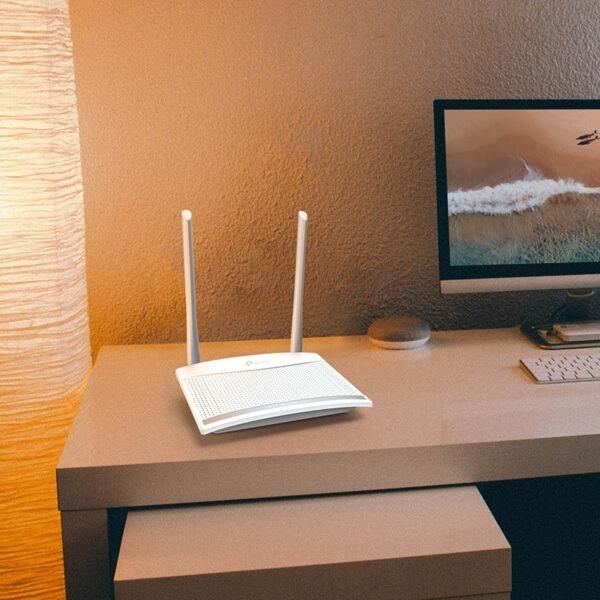 tp-link tl-wr820n - bộ phát wifi chuẩn n tốc độ 300mbps, 2 ăng ten 5dbi với công nghệ 2x2 mimo - hình 06