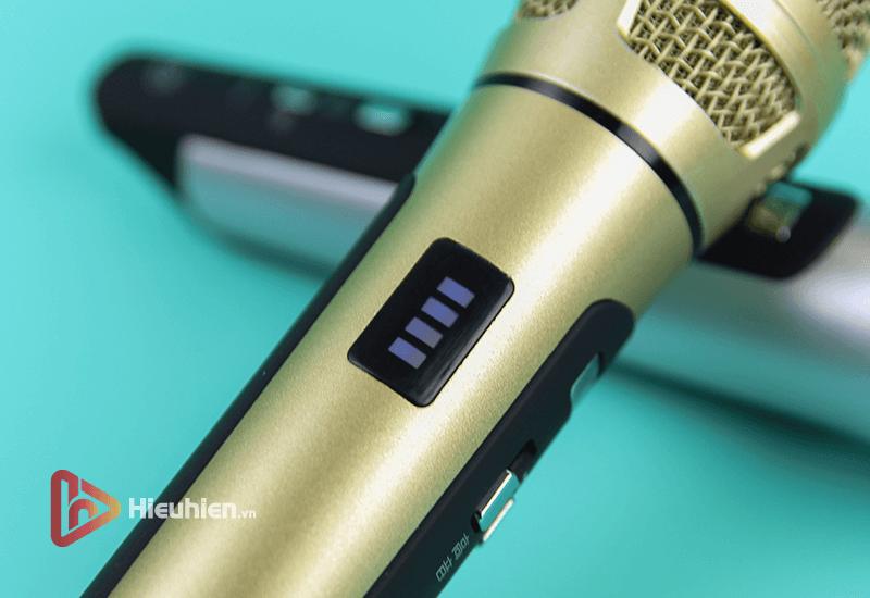 tuxun k9 - bản thiếng trung - micro karaoke trên xe hơi, ô tô kết nối tần số fm - hình 14