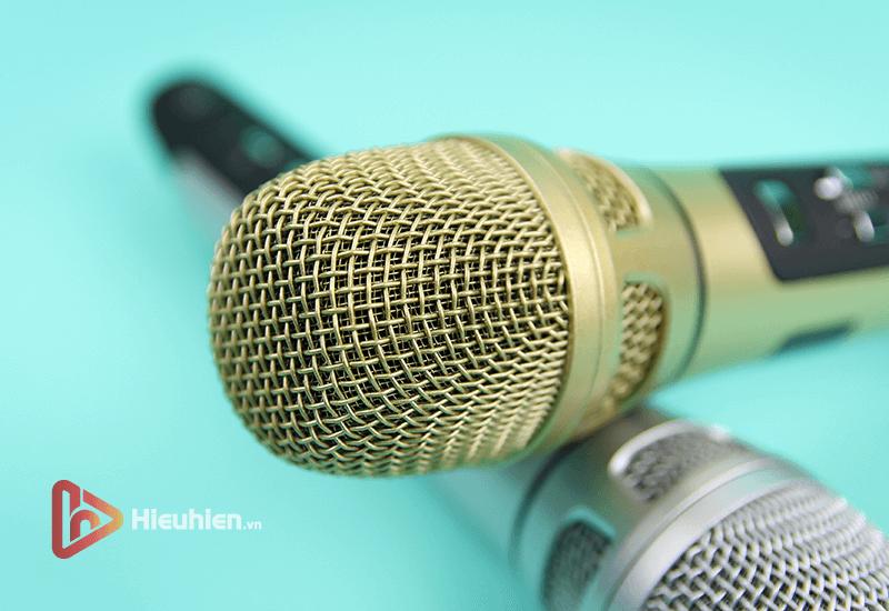 tuxun k9 - bản thiếng trung - micro karaoke trên xe hơi, ô tô kết nối tần số fm - hình 15