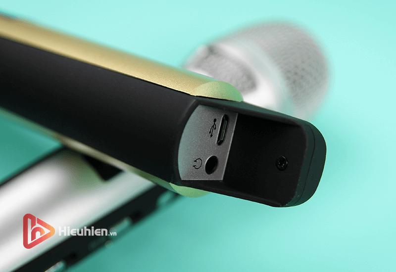tuxun k9 - bản thiếng trung - micro karaoke trên xe hơi, ô tô kết nối tần số fm - hình 17