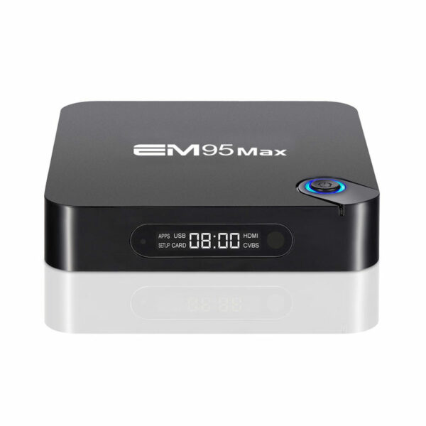 enybox em95 max 2gb/16gb android 9.0 tv box 4k, chip xử lý s905x2
