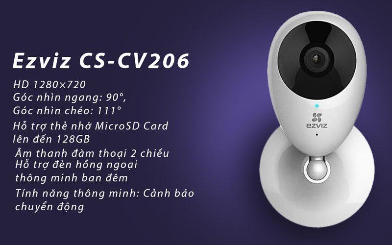 camera ip wifi ezviz cs-cv206 hd 720p quan sát trong nhà - hình 11