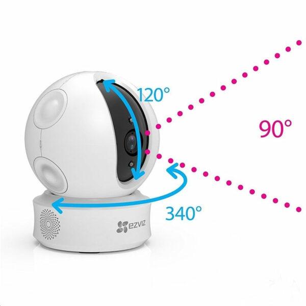 ezviz cs-cv246 full hd 1080p - camera ip wifi trong nhà, có thể xoay - hình 03