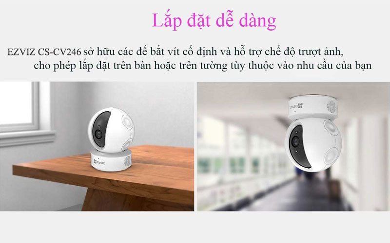ezviz cs-cv246 full hd 1080p - camera ip wifi trong nhà, có thể xoay - hình 11