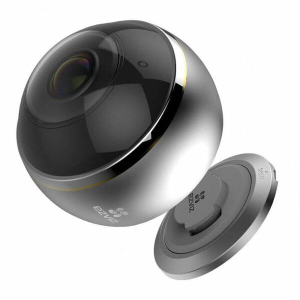 c6p được trang bị các thấu kính mắt cá cao cấp và cảm biến hdr 3-megapixel giúp hỗ trợ giám sát mọi hướng 360° bằng bốn chế độ xem: toàn cảnh, mở rộng, màn hình chia đôi và màn hình chia bốn. camera wi-fi toàn cảnh cho phạm vi quan sát toàn diện không lo điểm mù - hình 03