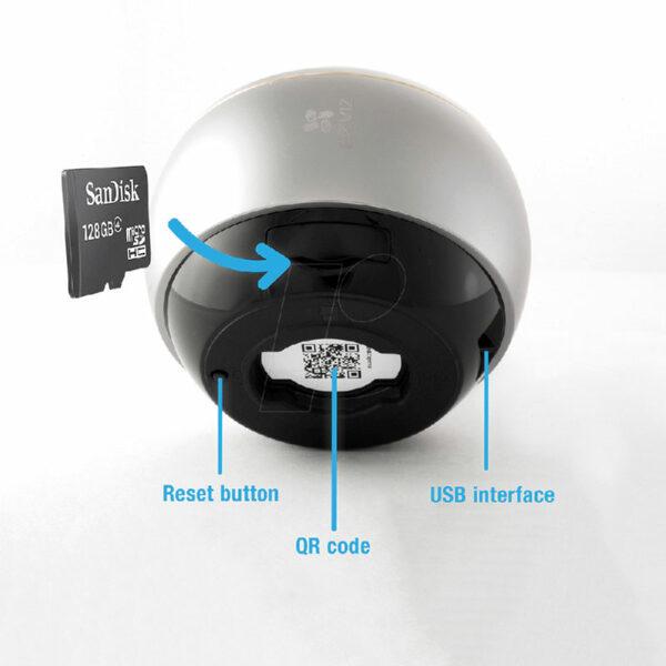 c6p được trang bị các thấu kính mắt cá cao cấp và cảm biến hdr 3-megapixel giúp hỗ trợ giám sát mọi hướng 360° bằng bốn chế độ xem: toàn cảnh, mở rộng, màn hình chia đôi và màn hình chia bốn. camera wi-fi toàn cảnh cho phạm vi quan sát toàn diện không lo điểm mù - hình 04