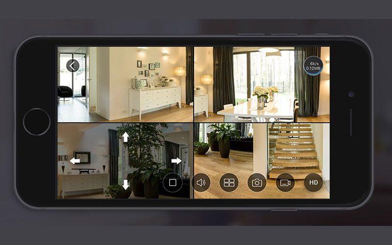 c6p được trang bị các thấu kính mắt cá cao cấp và cảm biến hdr 3-megapixel giúp hỗ trợ giám sát mọi hướng 360° bằng bốn chế độ xem: toàn cảnh, mở rộng, màn hình chia đôi và màn hình chia bốn. camera wi-fi toàn cảnh cho phạm vi quan sát toàn diện không lo điểm mù - hình 09