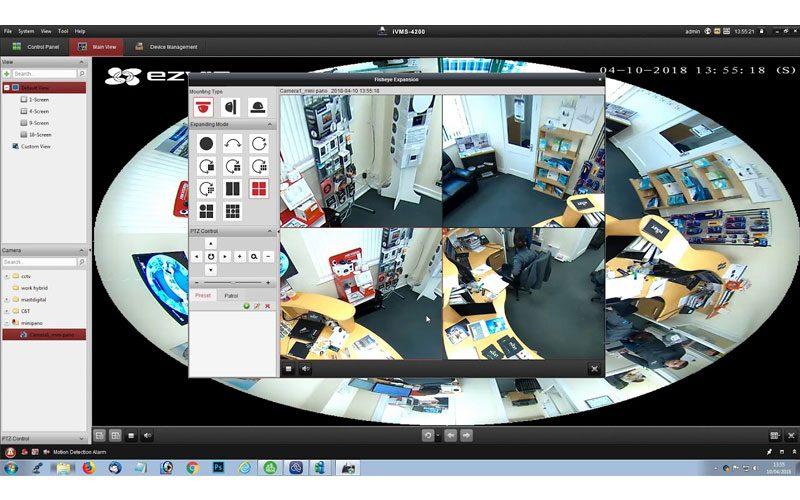 c6p được trang bị các thấu kính mắt cá cao cấp và cảm biến hdr 3-megapixel giúp hỗ trợ giám sát mọi hướng 360° bằng bốn chế độ xem: toàn cảnh, mở rộng, màn hình chia đôi và màn hình chia bốn. camera wi-fi toàn cảnh cho phạm vi quan sát toàn diện không lo điểm mù - hình 11