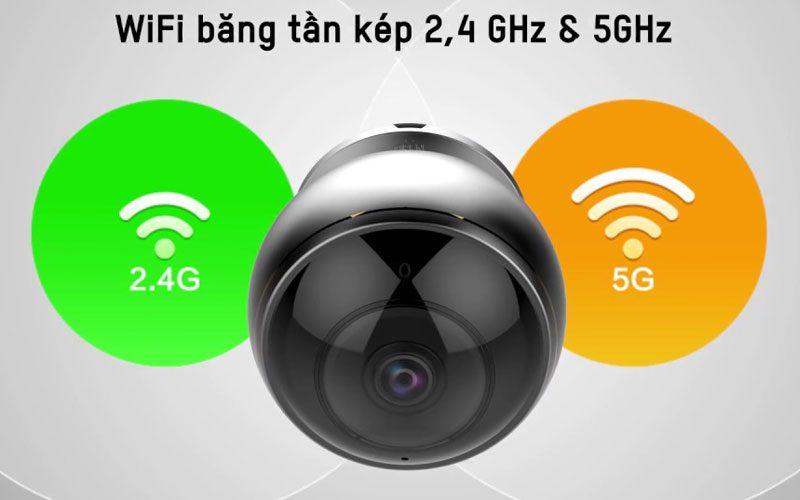 c6p được trang bị các thấu kính mắt cá cao cấp và cảm biến hdr 3-megapixel giúp hỗ trợ giám sát mọi hướng 360° bằng bốn chế độ xem: toàn cảnh, mở rộng, màn hình chia đôi và màn hình chia bốn. camera wi-fi toàn cảnh cho phạm vi quan sát toàn diện không lo điểm mù - hình 13