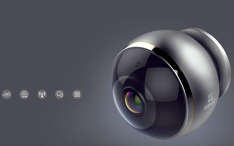 c6p được trang bị các thấu kính mắt cá cao cấp và cảm biến hdr 3-megapixel giúp hỗ trợ giám sát mọi hướng 360° bằng bốn chế độ xem: toàn cảnh, mở rộng, màn hình chia đôi và màn hình chia bốn. camera wi-fi toàn cảnh cho phạm vi quan sát toàn diện không lo điểm mù - hình 14