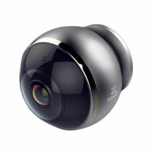 c6p được trang bị các thấu kính mắt cá cao cấp và cảm biến hdr 3-megapixel giúp hỗ trợ giám sát mọi hướng 360° bằng bốn chế độ xem: toàn cảnh, mở rộng, màn hình chia đôi và màn hình chia bốn. camera wi-fi toàn cảnh cho phạm vi quan sát toàn diện không lo điểm mù