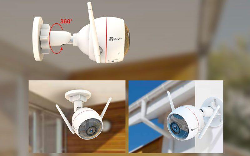 ezviz cs-cv310 full hd 1080p - camera ngoài trời có đèn, còi báo động - hình 07