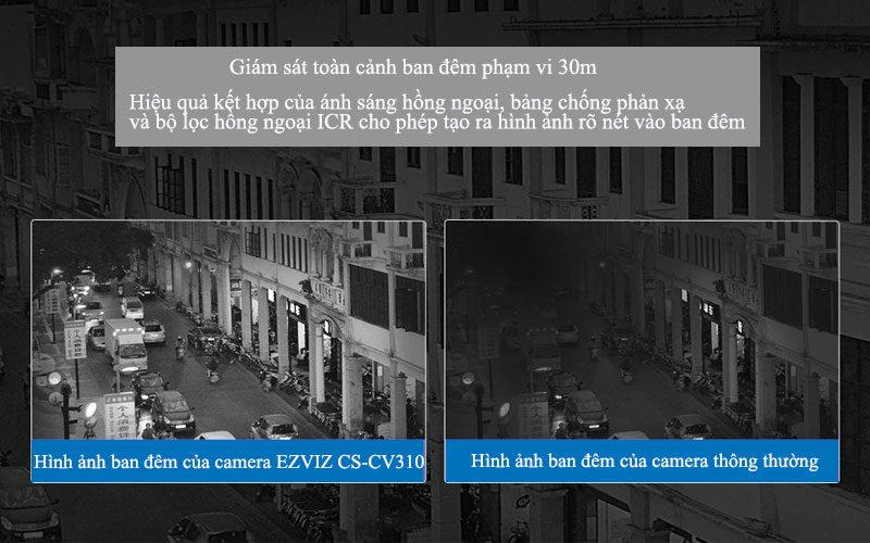 ezviz cs-cv310 full hd 1080p - camera ngoài trời có đèn, còi báo động - hình 13