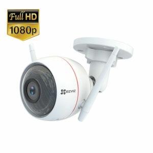 ezviz cs-cv310 full hd 1080p - camera ngoài trời có đèn, còi báo động