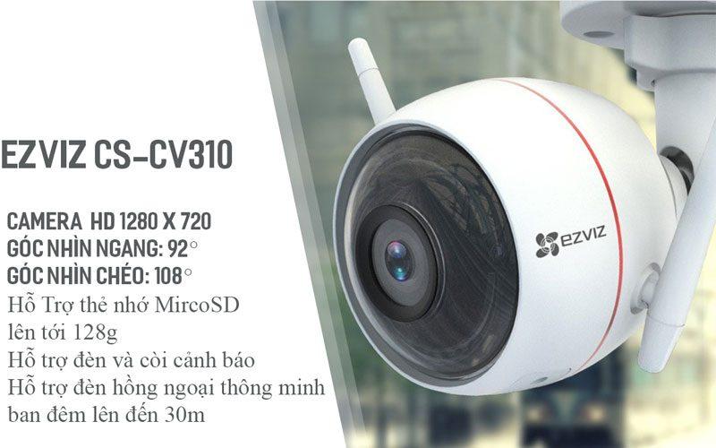 ezviz cs-cv310 hd 720p - camera quan sát ngoài trời có báo động đèn - hình 08