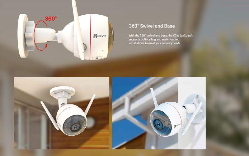 ezviz cs-cv310 hd 720p - camera quan sát ngoài trời có báo động đèn - hình 15