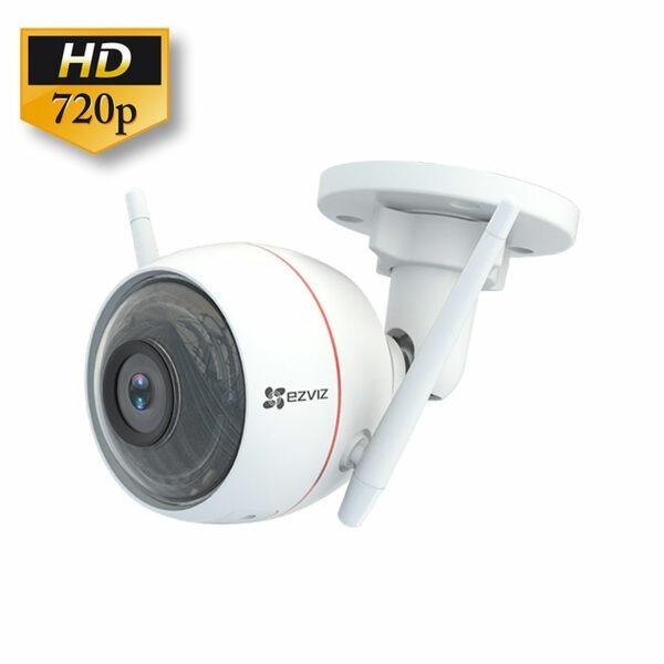 ezviz cs-cv310 hd 720p - camera quan sát ngoài trời có báo động đèn