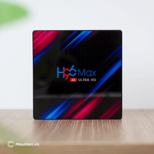 enybox h96 max rk3318 4gb/32gb android 9.0 tv box 4k - hình 01