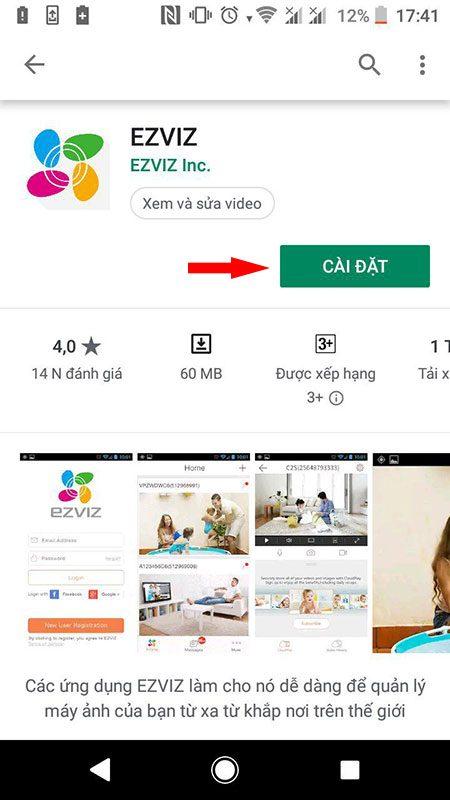 hướng dẫn cài đặt và sử dụng camera ip wifi ezviz trên điện thoại - hình 01