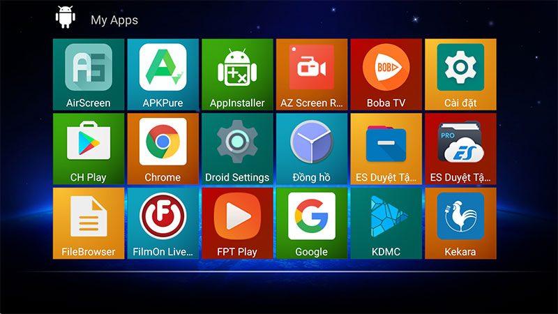 hk1 play 4gb/32gb android 9.0 tv box 4k, s905x2, 2.4ghz/5ghz wifi - hình 15