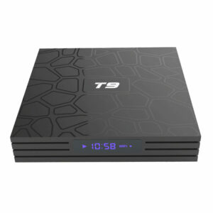 android tv box t9 rk3318 4gb/64gb, android 9.0, 2.4ghz/5.8ghz wifi