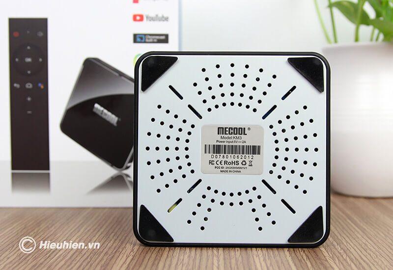 mecool km3 atv 9.0, amlogic s905x2 4gb/128gb, voice remote - hình 08