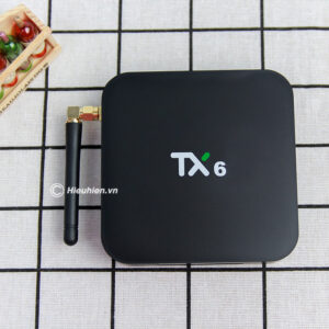 tanix tx6-h ram 4gb, rom 64gb android 9.0 tv box allwinner h6 - hình 01