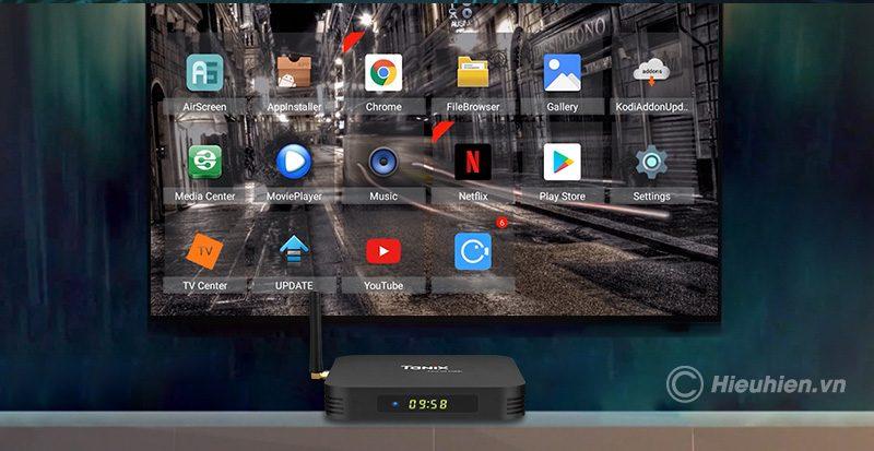 tanix tx6-h ram 4gb, rom 64gb android 9.0 tv box allwinner h6 - hình 19