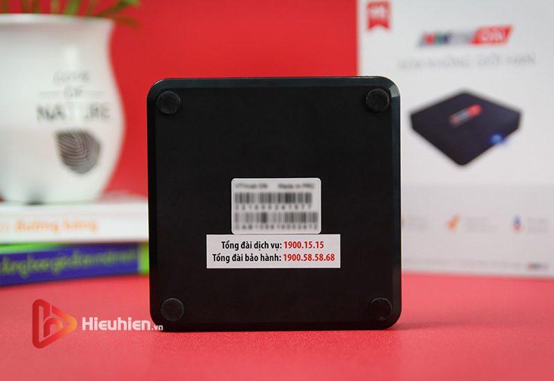 android tv box vtvcab on lite - hộp truyền hình bản quyền, cấu hình ram 2gb, rom 16gb, chip s905w, android 7.1 - hình 09