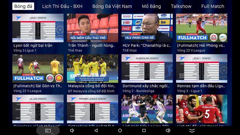 android tv box vtvcab on lite - hộp truyền hình bản quyền, cấu hình ram 2gb, rom 16gb, chip s905w, android 7.1 - hình 20