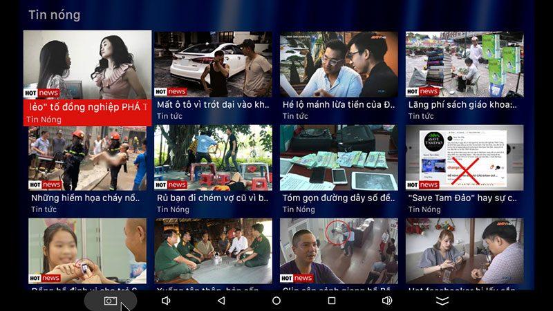 android tv box vtvcab on lite - hộp truyền hình bản quyền, cấu hình ram 2gb, rom 16gb, chip s905w, android 7.1 - hình 24