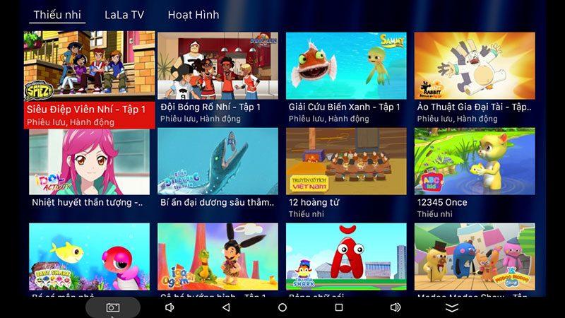 android tv box vtvcab on lite - hộp truyền hình bản quyền, cấu hình ram 2gb, rom 16gb, chip s905w, android 7.1 - hình 25