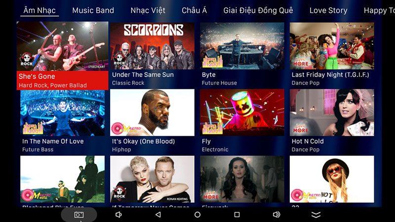 android tv box vtvcab on lite - hộp truyền hình bản quyền, cấu hình ram 2gb, rom 16gb, chip s905w, android 7.1 - hình 26