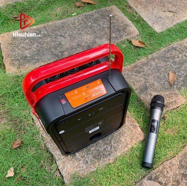 loa xách tay karaoke bluetooth jyx ms62bt - tặng micro không dây - hình 10