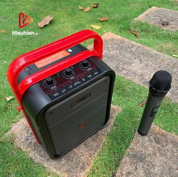 loa xách tay karaoke bluetooth jyx ms62bt - tặng micro không dây - hình 12